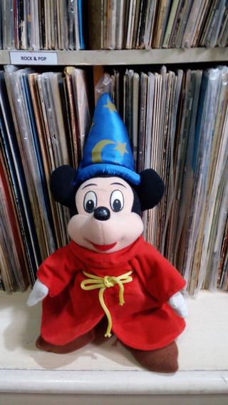 Boneco Pelúcia Mickey Feiticeiro Mago / Disney