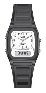 Reloj Q&q By Citizen Ana-digi 100m Alarma Crono Para Hombre