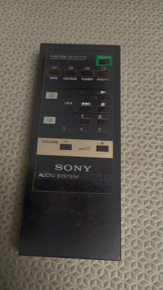 Controle Remoto Sony Áudio System Rm 800 B