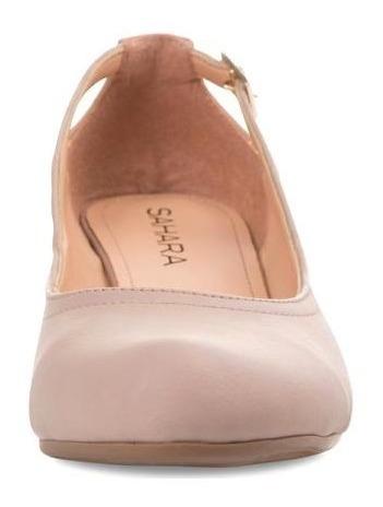 Zapatos Marca Sahara Color Nude Para Mujer Pr-8080132
