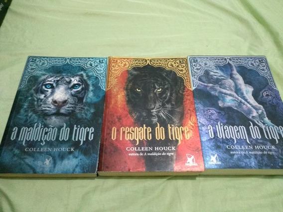 Livro Tigre Trilogia De Collen Houck