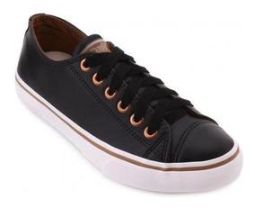 Tenis Capricho Shoes Cp0542 Like Class Produto Em Couro