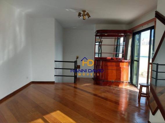 Maravilhosa Cobertura Á Venda Na Vila Clementino Com 3 Dormitórios, 2 Vagas - 180 M² - Co0163