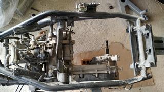 Motor De Moto Completo Da Citycom 300cc Com Tramissão Cvt