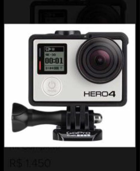 Câmera Go Pro Hero4 Silver