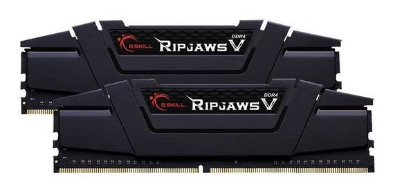 Memória Ram G.skill Ripjaws V 8gb(2x4gb) Ddr4 3200mhz Gamer