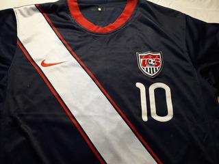 Camisa Seleção Usa Nike Original Número 10 Colecionador