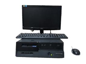 Computador Pc Cpu Completa Lenovo 2 Gb De Ram Ddr2