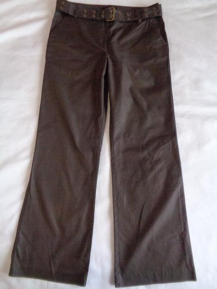 Pantalón Talbots Talla 10 Usa, Nuevo Sin Etiqueta,con Cinto