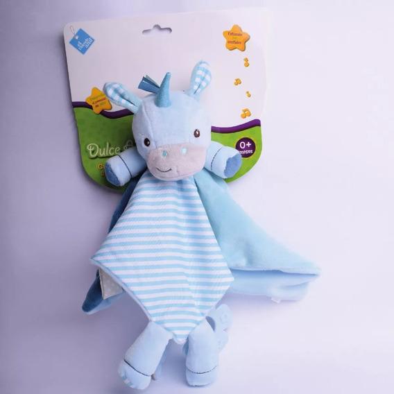 Dulce Apego Unicornio Nene Descubre Duende Azul Fibro 6786