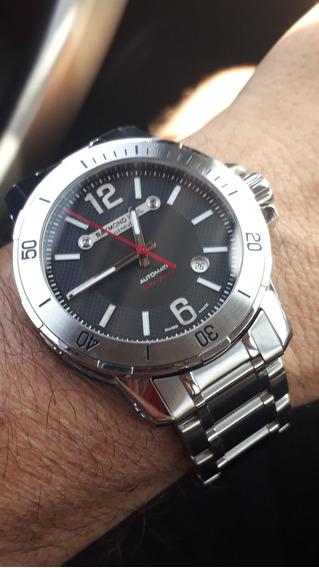 Relógio Raymond Weil Nabuco, Automático, Completo!