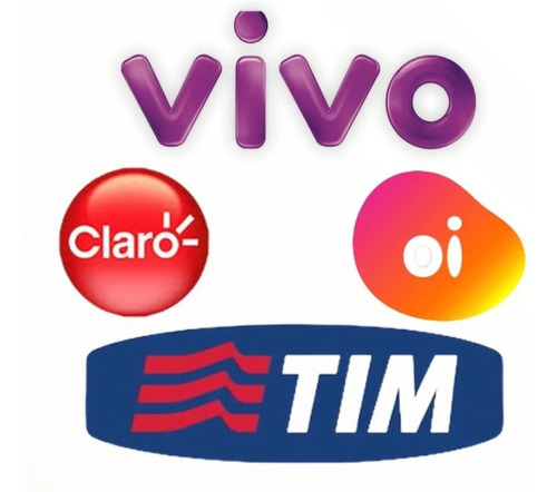 Recarga On Line  Para Celular, Claro, Vivo, Oi Tim 10,00