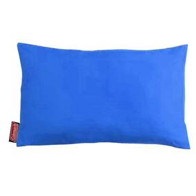 Travesseiro Coleman Dobrável Azul Camping E Viagens