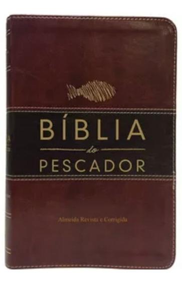 Biblia Do Pescador Vd Lx Vinho Nobre / Marrom Escuro