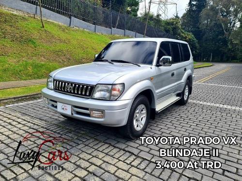 Toyota Prado Vx 3400cc At Trd Blindaje 2
