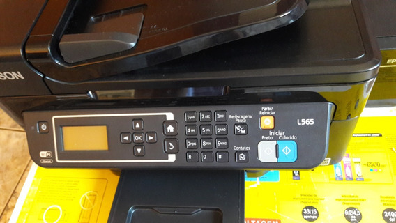 Impressora Multifuncional Epson Ecotank L565 Wi-fi - Usado