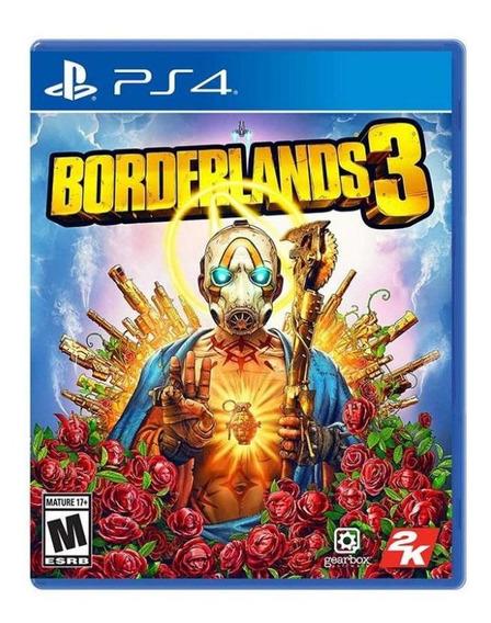 Jogo Game Borderlands 3 - Ps4