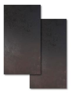 Porcelanato Lamina Oxido Negro Satinado San Pietro 80x160