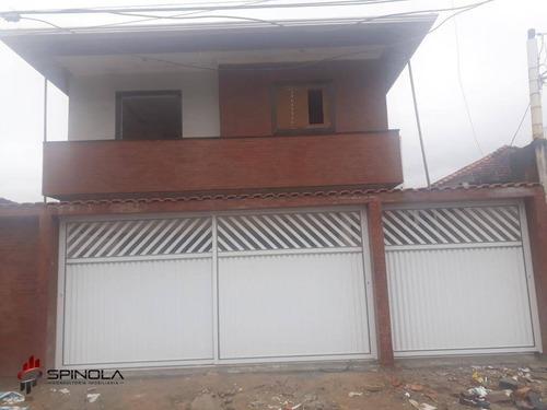 Imagem 1 de 19 de Casa Com 2 Dormitórios À Venda, 48 M² Por R$ 270.000,00 - Vila Guilhermina - Praia Grande/sp - Ca1644