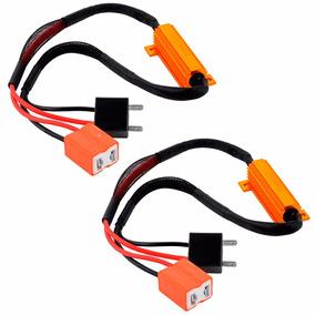 Par Resistor Canceler Canbus Erro H1 - H3 Sem Erro Led Xenon
