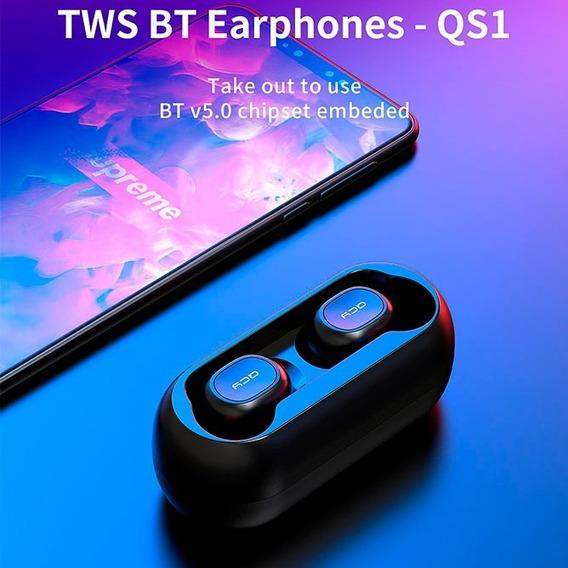 Fone De Ouvido Xiaomi Qcy Qs1 Tws Bluetooth 5.0 3d Estéreo