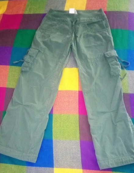 Pantalon Dama Multi Bolsillos M.
