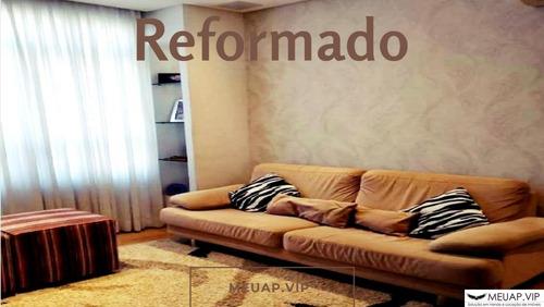 Imagem 1 de 25 de Apartamento Reformado Para Venda Em Santos No Bairro Do Embaré - Em1792 - 69179060