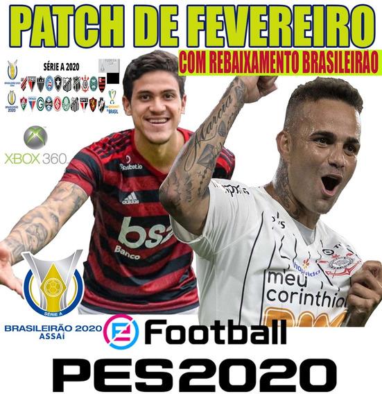 Patch Pes 2019/2020 Xbox 360 Rebaixamento Brasileirão Show !