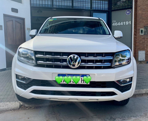 Volkswagen Amarok Highline 4x4 At 84mil Km  2017 Lebenti