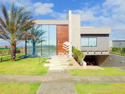 Mansão Com 3 Quartos À Venda, 315 M², Alto Padrão, Móveis Plenejados - Tamatanduba - Eusébio/ce - Ca0262