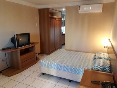 Flat Em Ponta Negra, Natal/rn De 42m² 1 Quartos Para Locação R$ 1.300,00/mes - Fl251005