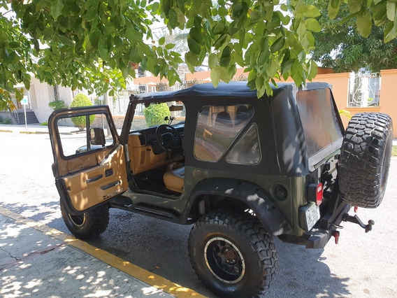 Jeep Wrangler 4.0 X Techo Lona 4x4 At 1997