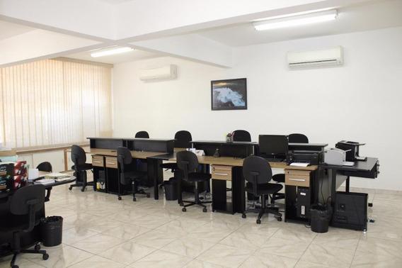 Sala Em Centro, Santos/sp De 120m² Para Locação R$ 4.500,00/mes - Sa608616