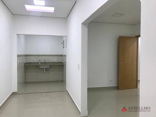 Imagem 1 de 18 de Conjunto De Salas Comerciais Para Locação No Centro De São Bernardo Por R$ 3.000,00 - Sa0524