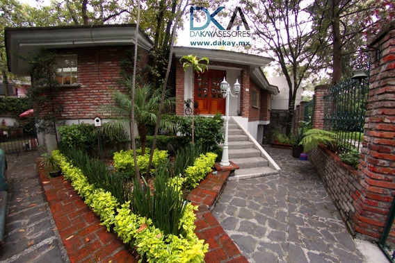 Venta Magnifica Casa En Jardines Del Ajusco Tlalpan