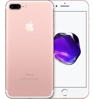 iPhone 7 Plus 32gb Tela 5.5 Rosa Ouro De Vitrine + Brinde