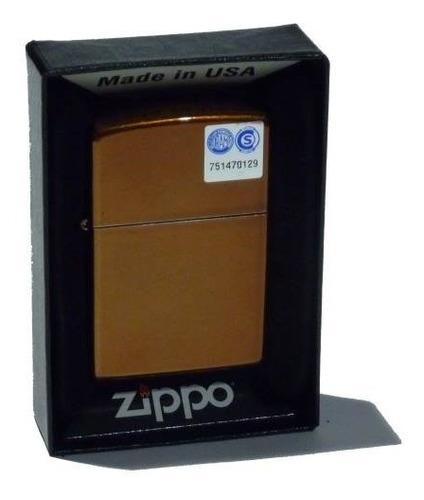 Imagen 1 de 2 de Encendedor Zippo Toffee Made In Usa 28277