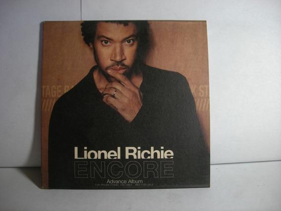 Encore Advance Album Lionel Richie Eu Cd En Caballito