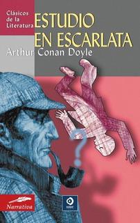 Estudio En Escarlata, Arthur Conan Doyle, Edimat