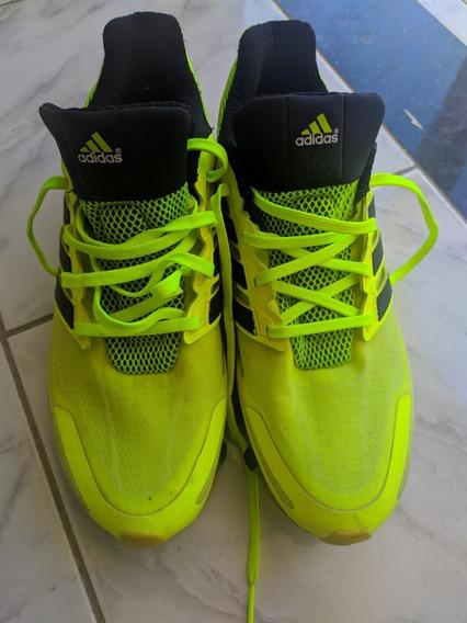 Tênis adidas Springblade Amarelo Neon E Preto - Original