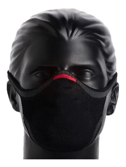 Máscara De Proteção Knit Fiber 3d + 1 Refil - Tamanho Grande