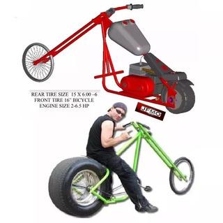 Projeto Chopper Moto Choper Bike Motocicleta Constrói