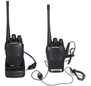 Kit 2 Rádios Comunicadores Baofeng 777s Longa Distância