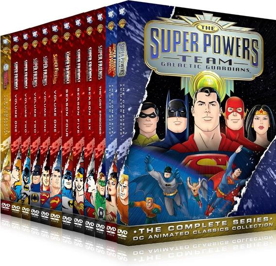 12 Box Os Super Amigos 1967-1985 21 Dvd