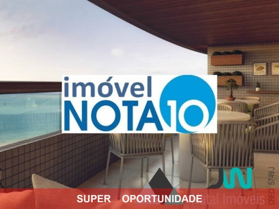 Edifício Porto Atlântico - Venda De Apartamento Na Praia De Areia Preta, Plena Beira Mar, Com 4 Suítes E Andar Alto. - Ap00088 - 2857147