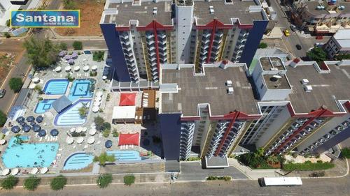 Imagem 1 de 26 de Apartamento Com 1 Dormitório À Venda, 44 M² Por R$ 115.000,00 - Do Turista - Caldas Novas/go - Ap0167
