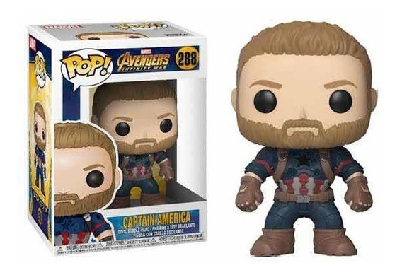 Funko Pop! Avengers Infinity War - Captain America #288