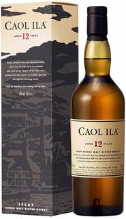 Whisky Single Malt Caol Ila 12 Años 43%abv Origen Escocia.