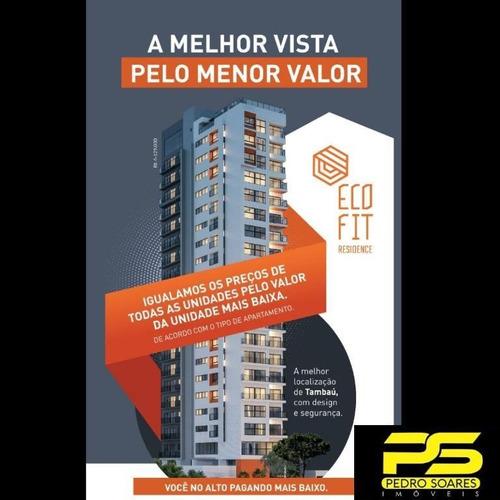 Apartamento Com 2 Dormitórios À Venda, 66 M² Por R$ 379.892,26 - Tambaú - João Pessoa/pb - Ap3698