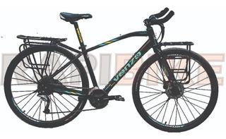 Bicicleta Ruta Urbana Venzo Traveler 27 Vel Shimano Discos